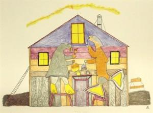 CAP_ARTS GRAPHIQUES_Ekidluaq KOMOARTOK_nvelle maison inuit_528816_460