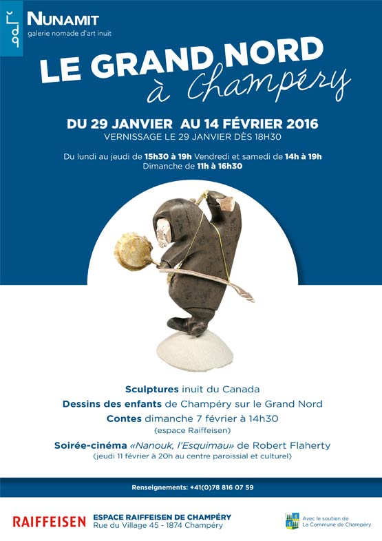 Champery exposition flyer janvier 2016