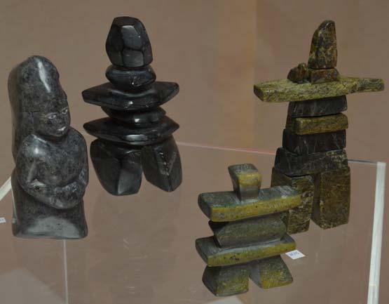 Statues inuit galerie ville la grand 2016