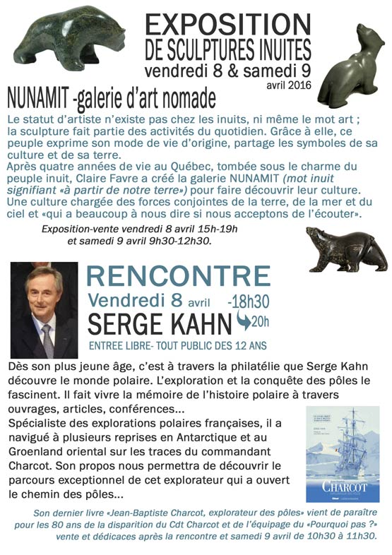 exposition inuit ville la grand mars avril 2016 -3