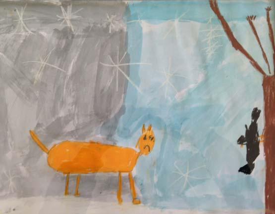 le conte le jour et la nuit. Organisé par la galerie inuit nunamit